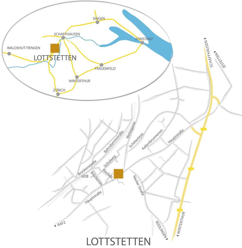 Letule Karte Anfahrt
